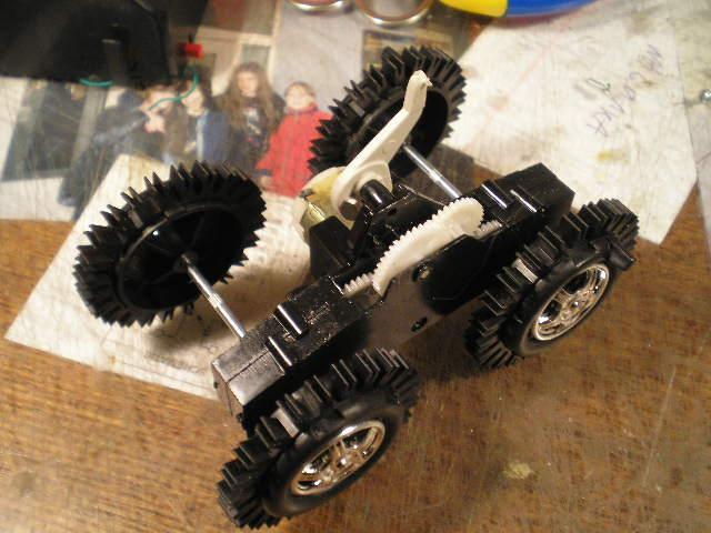 Колеса для роботов своими руками